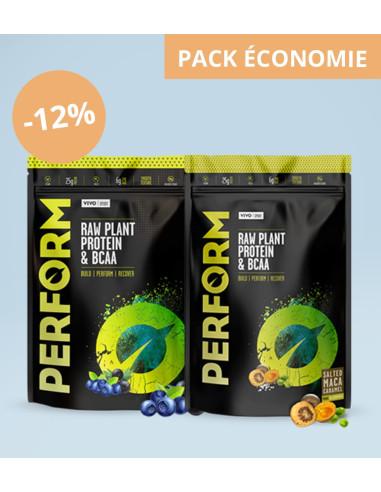 Pack PERFORM X2 - Protéines Crues