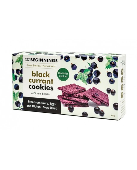 Biscuit THE BEGINNINGS - Cassis - 80g
