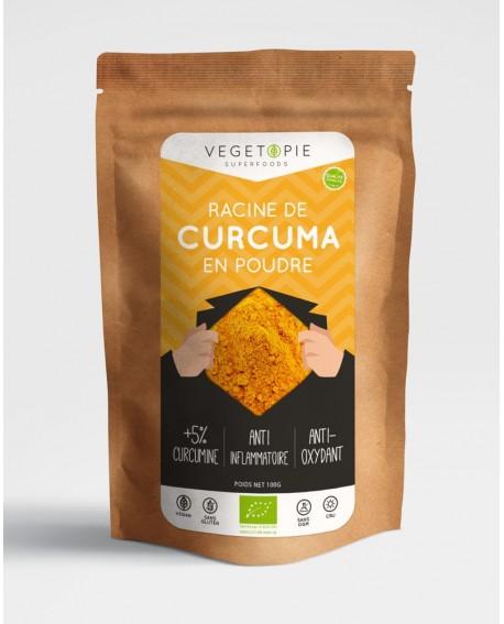 Curcuma Bio - Poudre - 100g - Premium