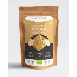 Triphala Bio en Poudre - Qualité Premium