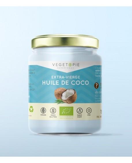 Huile de Coco Extra Vierge Bio - 450ml - KULAU