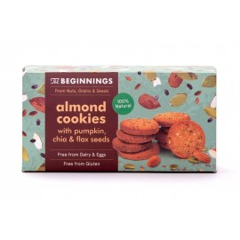 The Beginnings - Cookies Amande avec Graines de Citrouille, Chia & Lin - 80g