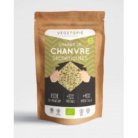 Graines de Chanvre décortiquées Bio - 200g - Premium