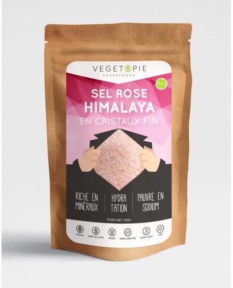 Sel rose de l'Himalaya - Cristaux fin - Premium