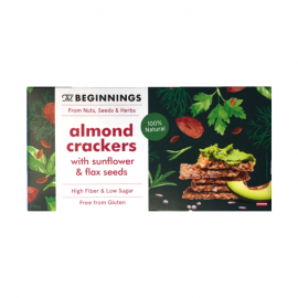Crackers d'amande aux graines de tournesol - THE BEGINNINGS - 80g