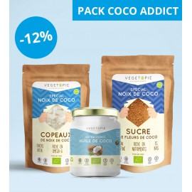 Pack Coco - Huile + Sucre + Copeaux