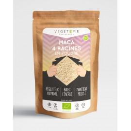 Maca 4 racines Premium en poudre Bio - 250g