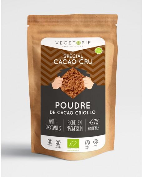 Cacao criollo bio poudre