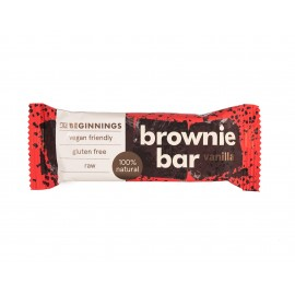 Barres Brownie avec Vanille - THE BEGINNINGS - 40g