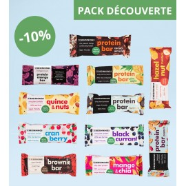 11x Barres Protéinées - Pack découverte (11x40g) - THE BEGINNINGS