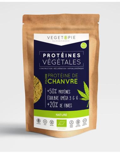 Protéines de Chanvre Bio en poudre
