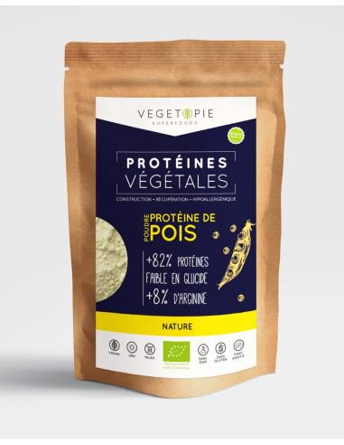 Protéine de Pois Bio - Nature - Poudre