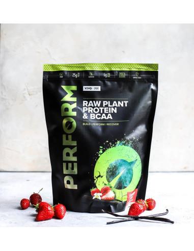 Protéine Vegan PERFORM Fraise & Vanille Vivo life