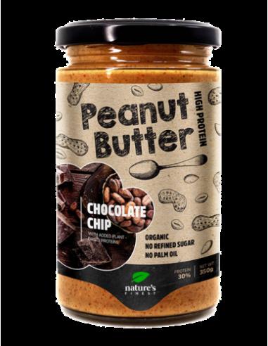Beurre de Cacahuète éclats de Cacao Bio Vegan - 350g