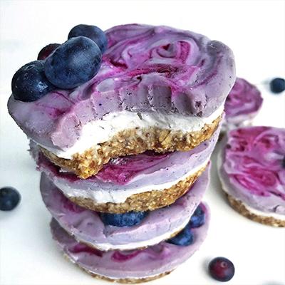 recette-cheesecake-cru-acai-blueberry